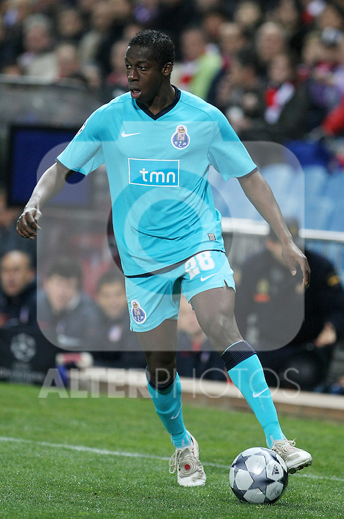 FC Porto's Cissokho during the UEFA Champions League match. February 24 2009. (ALTERPHOTOS/20092009Acero).