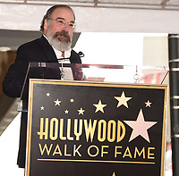 HOLLYWOOD - FEBRUARY 12: Mandy Patinkin was honored with a star on the Hollywood Walk of Fame today, where Homeland's Rupert Friend and broadway legend Patti LuPone spoke to his storied career and humanitarian work.The ceremony was followed by a celebratory luncheon given by Fox 21 Television Studios and Showtime.  Homeland's seventh season premiered on Showtime February 11, and airs Sundays at 10 PM. (Photo by Frank Micelotta/FOX/PictureGroup)