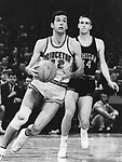 19 MAR 1965:  Princeton's Bill Bradley (42) during the NCAA Men's Final Four Basketball National Championship Semifinal game against Michigan held in Portland, OR at Memorial Coliseum. Michigan defeated Princeton 93-76 to face UCLA in the final game. Photo Copyright Rich Clarkson