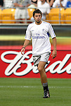 29 July 2004: Mateja Kezman. Chelsea of the English Premier League defeated AS Roma of La Liga at Heinz Field in Pittsburgh, PA in a ChampionsWorld Series friendly match..