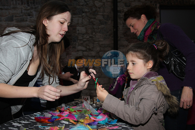 Ellen fee net making her wand.at the St Ita's Fundraiser Harry Potter event in Scotch Hall..Picture: Fran Caffrey/www.newsfile.ie.