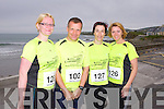 HALF MARATHON: Member's of the Kerry Crusaders competing in the Kerry Head Half Marathon in Ballyheigue on Sunday l-r:Mary Toomey, David Toomey, Tena Griffin and Siobhan Dowling.