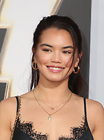 "29 March 2019 - Hollywood, California - Paris Berelc. Warner Bros. Pictures And New Line Cinema's World Premiere Of ""SHAZAM!""  held at TCL Chinese Theatre IMAX. <br /> CAP/ADM/FS<br /> ©FS/ADM/Capital Pictures"