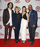 Trey Santiago, Jeannie Santiago, Lily Santiago and Ruben Santiago-Hudson attends the Opening Night Party for Red Bull Theater's All-Female MAC BETH at Houston Hall on May 19, 2019 in New York City.