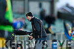Dr. Crokes manager Pat O'Shea.  Dr. Crokes v Corofin in the Semi Final of the Senior Football Club Championship at the Gaelic Grounds, Limerick on Saturday.