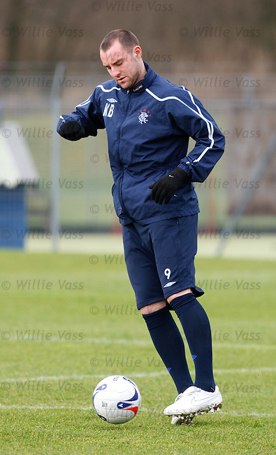 Kris Boyd at training