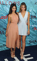 "NEW YORK, NY - June 21: Julianna Herz and Danielle Lopez attends the NEw York premiere for ""The Shallow"" at the Loews AMC on June 21, 2016   in New York City .  Photo Credit: John Palmer/ MediaPunch"