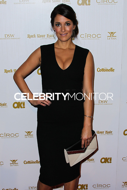 WEST HOLLYWOOD, CA, USA - FEBRUARY 27: Angelique Cabral at the OK! Magazine Pre-Oscar Party 2014 held at Greystone Manor Supperclub on February 27, 2014 in West Hollywood, California, United States. (Photo by Xavier Collin/Celebrity Monitor)