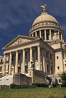 Jackson, MS, State Capitol, State House, Mississippi, The State Capitol Building in the capital city of Jackson.