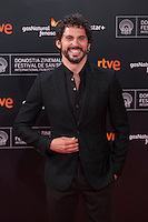 Paco Leon poses before 63rd Donostia Zinemaldia opening ceremony (San Sebastian International Film Festival) in San Sebastian, Spain. September 18, 2015. (ALTERPHOTOS/Victor Blanco) /NortePhoto.com