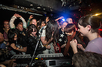 Andrew WK bringing his one man party to The Corner Hotel, Melbourne, 4 May 2012