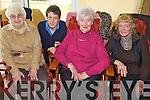FUN: Enjoying the fun as part of a new Young and Old Group in Ballybunion, l-r: Gladys Dempsey, Corey Meehan (St Joseph's Secondary School), Queenie Conroy, Kathleen Brady.