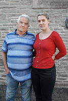 """Pictured L-R: Heartbroken husband Tony Price with daughter Nina - the pair want justice for wife and mum Diane Price, 57, killed by a young driver sending cheeky monkey emojis on her mobile phone.<br /> Re: A husband has told of his heartbreak after his wife was killed by a motorist sending cheeky monkey emojis at the wheel.<br /> Grandmother Diane Price, 57, died when the young woman driver was distracted by a message flashing up on Facebook.<br /> Her husband Tony, 76, is calling for tougher penalties on drivers using hand-held mobiles.<br /> He said: """"If a message comes through - they look at it.<br /> """"That's what killed my wonderful wife - but she wasn't the first and she won't be the last.""""<br /> Gemma Evans, 23, was jailed for six months for causing Diane's death death by careless driving.<br /> A court heard she sent and received messages with cheeky monkey, love heart and thumbs up emojis while driving to work."""