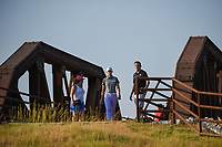 Sung Hyun Park (KOR) makes her way across the bridge near the tee on 2 during the round 3 of the Volunteers of America Texas Classic, the Old American Golf Club, The Colony, Texas, USA. 10/5/2019.<br /> Picture: Golffile   Ken Murray<br /> <br /> <br /> All photo usage must carry mandatory copyright credit (© Golffile   Ken Murray)