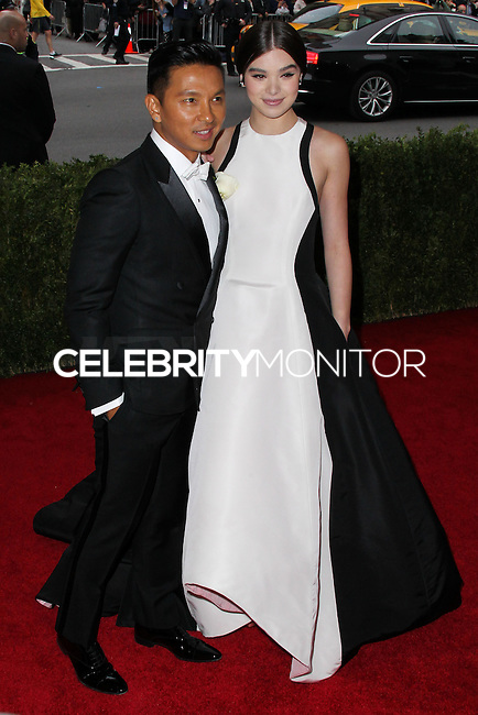 """NEW YORK CITY, NY, USA - MAY 05: Prabal Gurung, Hailee Steinfeld at the """"Charles James: Beyond Fashion"""" Costume Institute Gala held at the Metropolitan Museum of Art on May 5, 2014 in New York City, New York, United States. (Photo by Xavier Collin/Celebrity Monitor)"""