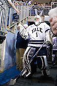 Ryan Rondeau (Yale - 1) - The Yale University Bulldogs defeated the Air Force Academy Falcons 2-1 (OT) in their East Regional Semi-Final matchup on Friday, March 25, 2011, at Webster Bank Arena at Harbor Yard in Bridgeport, Connecticut.