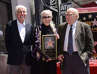 Barbara Bain + Dick Van Dyke + Ed Asner @ her Walk of Fame ceremony held @ 6767 Hollywood blvd.<br /> April 28, 2016