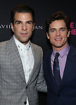 Zachary Quinto and Matt Bomer attends the 'The Boys In The Band' 50th Anniversary Celebration at The Second Floor NYC on May 30, 2018 in New York City.