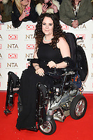Cherylee Houson at the National TV Awards 2017 held at the O2 Arena, Greenwich, London. <br /> 25th January  2017<br /> Picture: Steve Vas/Featureflash/SilverHub 0208 004 5359 sales@silverhubmedia.com