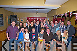 21st: Aisling Griffin Ardfert who celebrated his 21st in McElligotts Bar, Ardfert with her family and friends on Sunday night. (Aislings is seated centre)