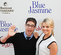 BEVERLY HILLS, CA - JULY 24: Kevin Manno and Ali Fedotowsky attend the premiere of 'Blue Jasmine' hosted by the AFI & Sony Picture Classics at the AMPAS Samuel Goldwyn Theater on July 24, 2013 in Beverly Hills, California. (Photo by Celebrity Monitor)