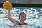 Manhattan Beach, CA 02/16/11 - Emily Milstead (Mira Costa #15) in action during the 2011 first round CIF girls waterpolo playoffs between Edison and Mira Costa.
