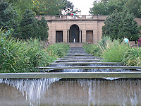 Meridian Hill Park fountain, Washington, DC.