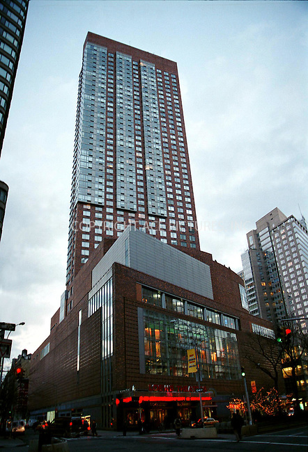 According to recent reports, concert promoter and Liza Minnelli's fiancée DAVID GEST has put his bachelor upper West Side pad at West 67th Street on the market for $4.5 million and is moving into Liza's co-op builing on upper East Side in New York. Picture shows the Millenium Tower where David Gest is selling his apartment. OTHER RESIDENTS INCLUDE REGIS PHILBIN, LIAM NEESON WITH NATASHA RICHARDSON AND HOWARD STERN..December 25, 2001. © 2001 by Alecsey Boldeskul..ONE-TIME REPRODUCTION RIGHTS..HI RES SCAN AVAILABLE UPON REQUEST