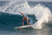 DANE GUDAUSKAS (USA) surfing at Pasta Point, Maldives (Friday, June 12th, 2009). Photo: joliphotos.com