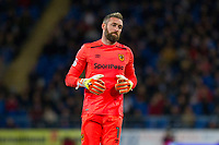 Allan McGregor of Hull City during the Sky Bet Championship match between Cardiff City and Hull City at the Cardiff City Stadium, Cardiff, Wales on 16 December 2017. Photo by Mark  Hawkins / PRiME Media Images.