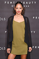 arriving for the Fenty Beauty by Rihanna launch party at Harvey Nichols, London<br /> <br /> <br /> &copy;Ash Knotek  D3310  19/09/2017