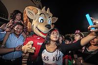 CimarronesFC vs Loros de Colima<br /> © Foto: LuisGutierrez/NORTEPHOTO.COM La Mascota Ron Cimarron.<br /> CimarronesFC vs Loros de Colima<br /> © Foto: LuisGutierrez/NORTEPHOTO.COM