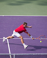 Wawrinka Backhand Volley