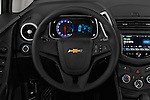 Car pictures of steering wheel view of a 2016 Chevrolet Trax LS 5 Door SUV Steering Wheel