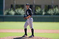Chicago White Sox pitcher Kyle Von Ruden (39) prepares to deliver a pitch to the plate during an Instructional League game against the Los Angeles Dodgers on September 30, 2017 at Camelback Ranch in Glendale, Arizona. (Zachary Lucy/Four Seam Images)