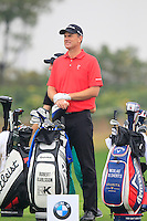 Robert Karlsson (SWE) on the 4th tee during Thursday's Round 1 of the 2014 BMW Masters held at Lake Malaren, Shanghai, China 30th October 2014.<br /> Picture: Eoin Clarke www.golffile.ie