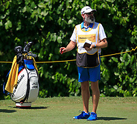 Jazz Janewattananond (THA) and Nick Pugh (caddy) in action on the 8th during Round 3 of the Maybank Championship at the Saujana Golf and Country Club in Kuala Lumpur on Saturday 3rd February 2018.<br /> Picture:  Thos Caffrey / www.golffile.ie<br /> <br /> All photo usage must carry mandatory copyright credit (© Golffile | Thos Caffrey)