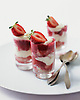 Strawberry Trifle Shots.