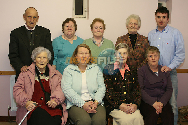 Brendan Carolan, Valerie Clarke, Kathleen Woods, Kathleen McGrane, Christopher Clarke, May Murray, Mary Brady, Kathleen O'Neill and Ann McQuaile of the Duleek Pioneers Group...Photo NEWSFILE/Jenny Matthews.(Photo credit should read Jenny Matthews/NEWSFILE)....This Picture has been sent you under the condtions enclosed by:.Newsfile Ltd..The Studio,.Millmount Abbey,.Drogheda,.Co Meath..Ireland..Tel: +353(0)41-9871240.Fax: +353(0)41-9871260.GSM: +353(0)86-2500958.email: pictures@newsfile.ie.www.newsfile.ie.FTP: 193.120.102.198.