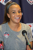 Boyds, MD - Tuesday May 16, 2017: The Washington Spirit practice and Press Conference at the Maryland SoccerPlex.
