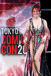 Mika Kano attends a talk show at Tokyo Comic Con 2017 in Makuhari Messe International Exhibition Hall on December 1, 2017, Tokyo, Japan. This is the second year that San Diego Comic-Con International held the event in Japan. Tokyo Comic Con runs from December 1 to 3. (Photo by Rodrigo Reyes Marin/AFLO)