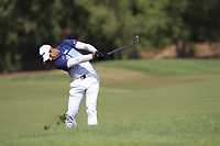 Aaron Rai (ENG) on the 16th fairway during the final round of the DP World Tour Championship, Jumeirah Golf Estates, Dubai, United Arab Emirates. 18/11/2018<br /> Picture: Golffile | Fran Caffrey<br /> <br /> <br /> All photo usage must carry mandatory copyright credit (© Golffile | Fran Caffrey)