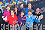 JOIN THE CLUB: Members of the Milltown Badminton Club who are looking for new members for their Spring season, front l-r: Finola Geary, Erina MacSweeney, Joanie Murphy. Back l-r: Bronagh Murphy, Anne O'Connor, Jeremiah Murphy, Barry Mason, Gary Millar.