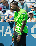 Gael Monfils (FRA) defeated Alejandro Gonzalez (COL) 7-5, 6-3, 6-2 at the US Open being played at USTA Billie Jean King National Tennis Center in Flushing, NY on August 29, 2014