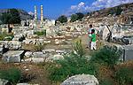 Lycian ruins at Letoon, Turkey