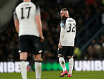 Wayne Rooney of Derby County lots towards the bench following Utd's second goalduring the FA Cup match at the Pride Park Stadium, Derby. Picture date: 5th March 2020. Picture credit should read: Darren Staples/Sportimage