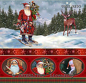 GIORDANO, GIFT WRAPS, GESCHENKPAPIER, PAPEL DE REGALO, Christmas Santa, Snowman, Weihnachtsmänner, Schneemänner, Papá Noel, muñecos de nieve, paintings+++++,USGIR293,#GP#,#X# napkins