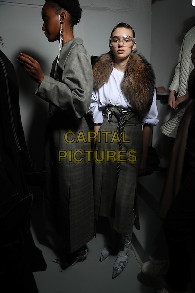ANNE SOFIE MADSEN<br /> at Paris Fashion Week FW 17 18<br /> in Paris, France on March 01, 2017.<br /> CAP/GOL<br /> &copy;GOL/Capital Pictures