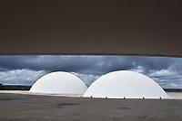 BRASÍLIA, DF, 04.04.2017 – JULGAMENTO-CHAPA DILMA/TEMER – O prédio do STE Brasília na manhã desta terça-feira, 04 (Foto: Ricardo Botelho/Brazil Photo Press)
