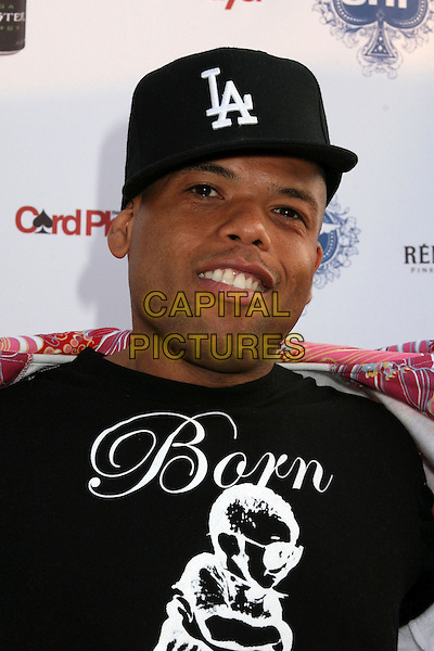 FRANKIE NEEDLES.2nd Annual Celebrity Poker Tournament Benefiting The Urban Health Institute at the Playboy Mansion, Holmby Hills, California, USA..April 28th, 2007.headshot portrait la black baseball cap hat .CAP/ADM/BP.©Byron Purvis/AdMedia/Capital Pictures